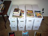 Boxes of Comics