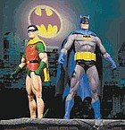 Batman Robin Figurines